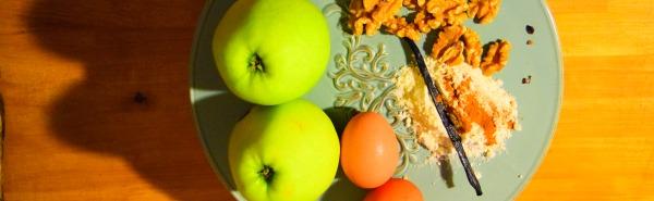 Torta di mele, noci e cannella www.civico30.net