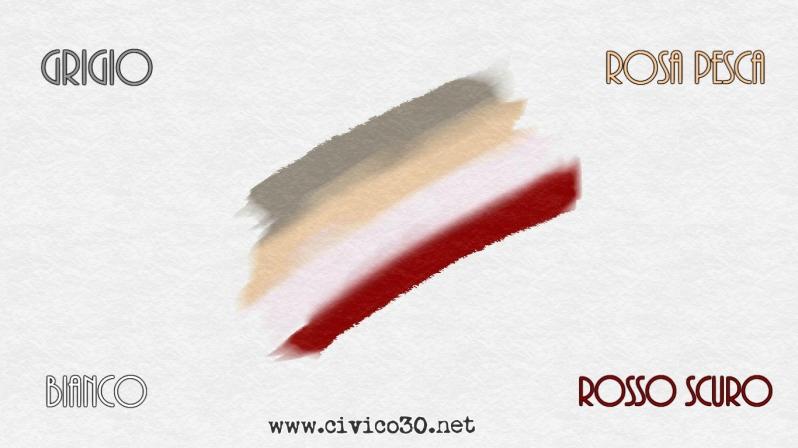 palette matrimonio grigio www.civico30.net
