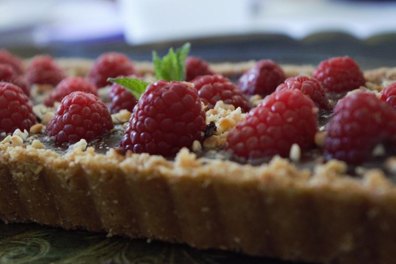torta biscottosa e lamponi1