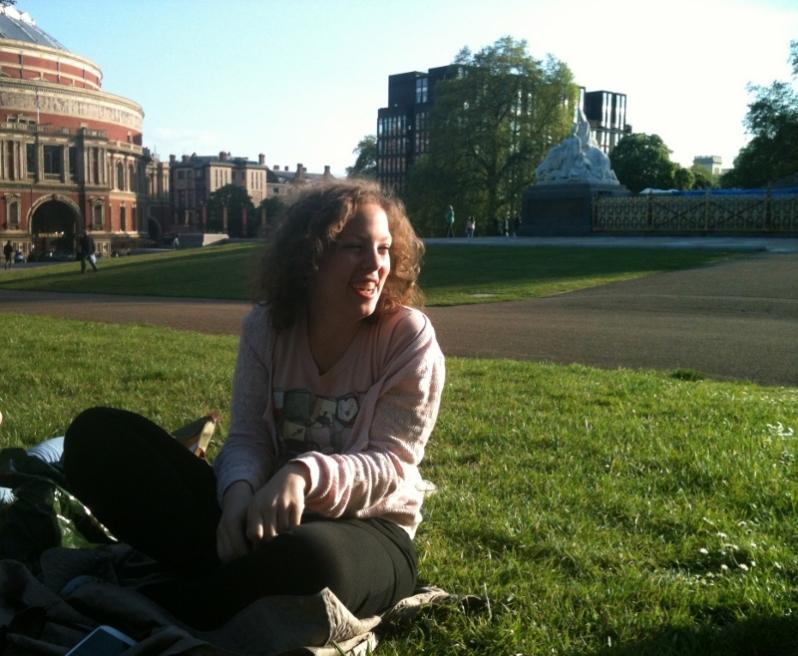 Io felice ai Kensington Gardens